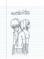 Vocaloids Devon and Ukina Bear by pandapunk143