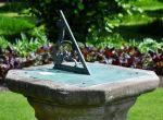The Blue Sundial 2 by Forestina-Fotos