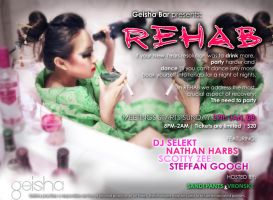 Geisha Bar's 'Rehab' by luvieur