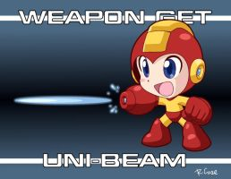 WEAPON GET UNI BEAM by rongs1234