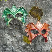 Leather Leaf Masks by Beadmask