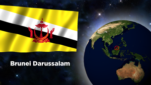 Flag Wallpaper - Brunei Darussalam by darellnonis