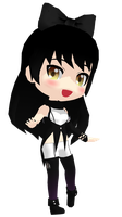 MMD Rummy RWBY Blake Belladonna DL by 2234083174