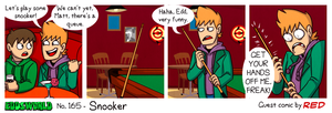 EWCOMIC No.165 - Snooker by AnArtistCalledRed