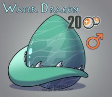 Water Dragon Hatchable CLOSED by GuardianDragon1