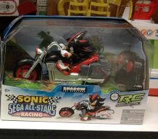 Sonic Sega All-Stars Racing Radio control Shadow by sonicfan40