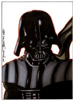 Darth Vader comish by NORVANDELL