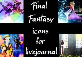 116 Final Fantasy lj icons by wounded-melody
