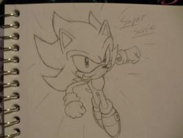 .:Super Sonic:. by SEGA-Sonic15
