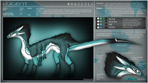Lucent - Reference Sheet by TheJiggyMonster