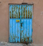 Blue door by MaithaNeyadi