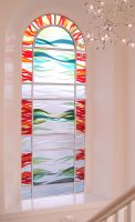 Fused Glass window. by rdwGlass