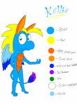 Dragonsona Reference Sheet (Updated) by DragonDrawer102