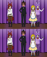 Kisekae 2- Five Nights at Freddy's by RouxCore