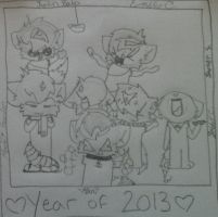 Year of 2013 by Manithewolf