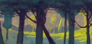 Speedpaint: At the Tail End of Day by IbenKrutt