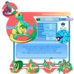 Lemuria Pokedex: No2 Emerlef by Sakuyamon