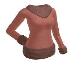 [MMD] Female sweater [download] by Wampa842