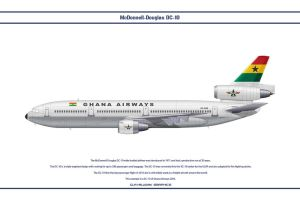 DC-10 Ghana Airways by WS-Clave