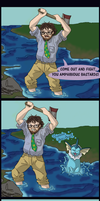 Ax Fishin' by TehPickle