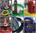 2012 London Olympic stamps by StuART1981