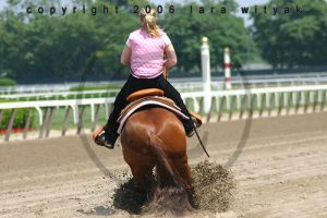 Belmont 2006 - Reining by shatteredmuse