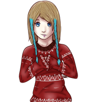 Christmas Sweater Maya by Managodess