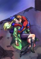 Spiderman (spoilers): Gwen Stacy by pebbled