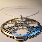 Geometric Steampunk Necklace by SteamSociety