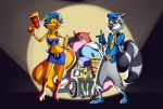 Sly Cooper's gang in: Accidental Arrest by ZedEdge