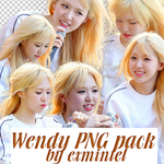 WENDY RED VELVET PNG PACK 01 by EXmintel