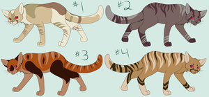 Cat adopts OPEN 3 are left! by SassyHeart