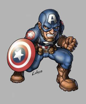 Ultimate Captain America by LOLONGX