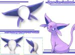 Espeon-Style Headband by AnimeNomNoms