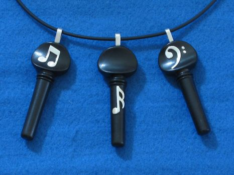 Tuned In Pendants by harlewood