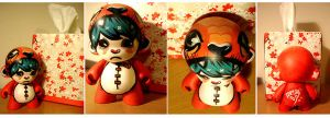 Tego the Mini Munny by nedashi