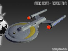 STAR TREK - BREAKABLE: ISS PHOENIX-LW-Version by ulimann644