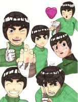 rock lee is love by sweetfire-05