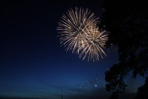 Fireworks. by Theleppan
