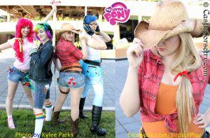 My Little Pony: Applejack by CastleCorsetry