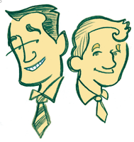 Earnest: Algy and Jack by raisegrate