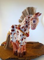 Chief Joseph Appaloosa Spirit Horse by LadyAkeldama