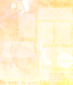 Hunger Games Layout by Lovely-Lily1997