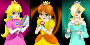 Yandere Princesses by LudiculousPegasus
