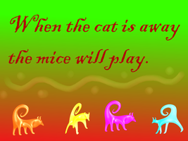 Cat Proverb by PJ987