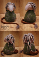 Hafdis the Nordic Forest Troll by Nymla