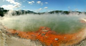 Steamy Mineral Pool by Rems84