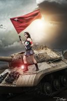 Injustice Gods Among Us - Wonder Woman(red son)05 by DEugen