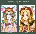 Before-After meme by kanapy-art