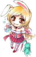 Loli Bunny - For Nikki by lin-k0